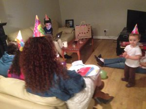 the most recent family birthday party (and everyone was healthy:-)