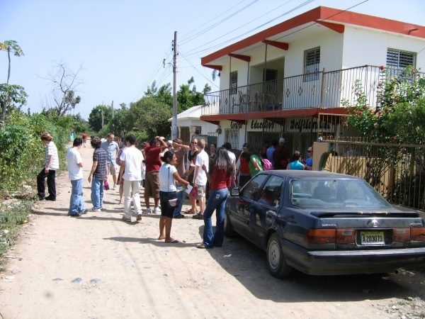 Image from short term missions trip to the Dominican Republic